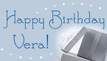Happy Birthday Vera