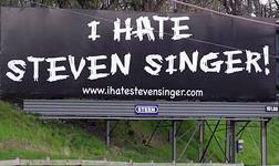 I hate Steven singer