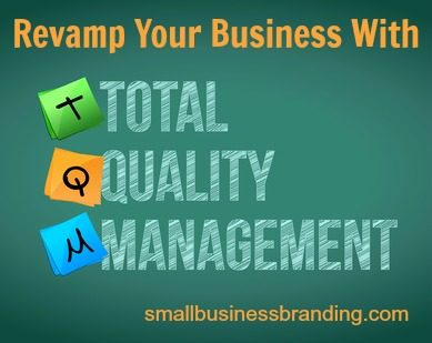 total quality management illustration design over a white background