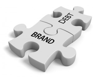 The Branding experts, Branding Debt