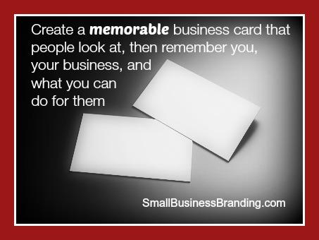 Create Memorable Business Cards-100314
